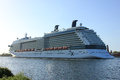 Velsen the netherlands may celebrity silhouette is a solstice class cruise ship owned and operated by cruises built by Stock Image