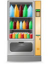 Vending water is a machine vector illustration Stock Image