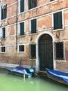 Venetian architecture on the canals