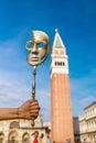 Venetian arnival mask Royalty Free Stock Photo