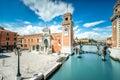 Venetian Arsenal in Venice Royalty Free Stock Photo