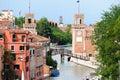 Venetian Arsenal's entrance Royalty Free Stock Photo