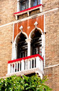 Venetian  Balcony and Windows Royalty Free Stock Photos