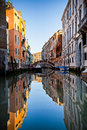 Venetian canal Royalty Free Stock Images