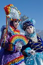 Venetian carnival at Annecy, France Royalty Free Stock Photo