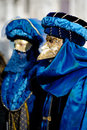 Venetian carnival costumes Stock Photography