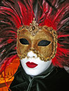 Venetian carnival mask used for celebrations in italy Royalty Free Stock Photo