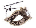 Venetian carnival mask on white background Royalty Free Stock Image