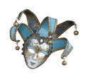 Venetian carnival mask on white background isolated Royalty Free Stock Photo