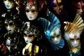 Venetian carnival masks, Italy Stock Photography
