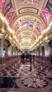 Venetian casino entrance hall macao Stock Images