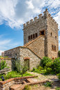 Venetian Castle in Butrint Royalty Free Stock Photo