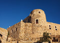 Venetian Castle in Naxos, Greece. Royalty Free Stock Photo