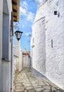 Venetian Castle Street Royalty Free Stock Photo