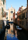 Venetian chanel Royalty Free Stock Images