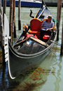 Venetian gondola Stock Photos