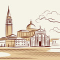 Venetian landscape Royalty Free Stock Images