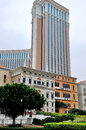 The venetian macao resort hotel in chinese photo was taken as Stock Photos