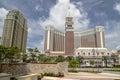 The Venetian Macao-Resort-Hotel Royalty Free Stock Photo