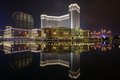 The venetian of macau most popular casino hotel at Royalty Free Stock Image