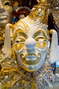 Venetian mask beautiful decoration of Stock Photos