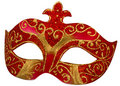 Venetian Mask with clipping path Royalty Free Stock Photo