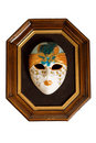 Venetian mask isolated on white Royalty Free Stock Photo