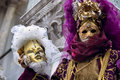 Venetian masks Stock Photo