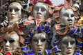 Venetian masks. Stock Photos