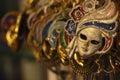 Venetian Masks Artwork Royalty Free Stock Photo