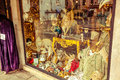 Venetian masks shop Royalty Free Stock Photo