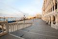 Venetian morning landscape near Doge's Palace Stock Photography