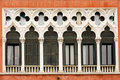 Venetian windows Stock Images