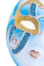 Venetianische Karnevalsschablone Stockbild