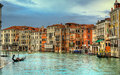 Venezia grand canal of italy Stock Images