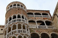 Venezia, VE, Italy - December 31, 2015: Ancient Venetian Palace Royalty Free Stock Photo