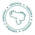 Venezuela, Bolivarian Republic of vector map.