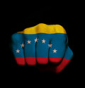 Venezuela físt Stock Photography