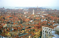 Venice from Above Royalty Free Stock Photo