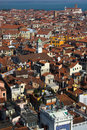 Venice from above Stock Image