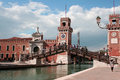 Venice Arsenal Royalty Free Stock Image