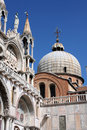 Venice basilica Stock Image