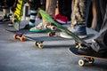 Venice Beach Skate Park Royalty Free Stock Photo
