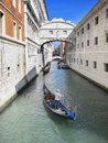 Venice: Bridge of sighs Royalty Free Stock Photography