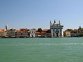Venice buildings along giudecca canal Royalty Free Stock Photography