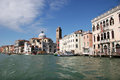 Venice canal grande in italy Stock Photos