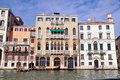 Venice canale grande in italy Stock Photo