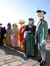 Venice carnival 2010 Stock Photography