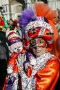 Venice Carnival, Carnival di Venezia, Italy Royalty Free Stock Photo