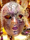 Venice Carnival ceramic mask - Italy Royalty Free Stock Image